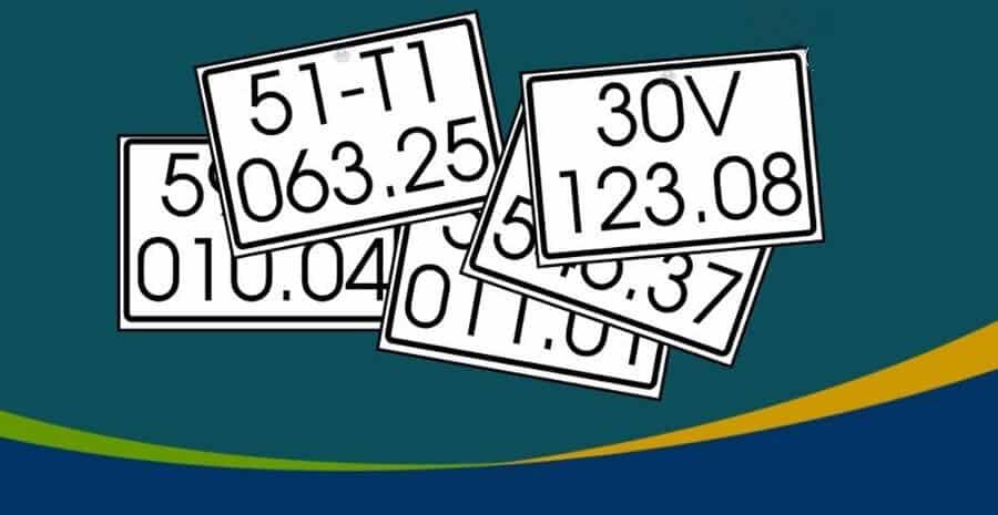 Mỗi cặp số trong biển số xe sẽ có 1 ý nghĩa khác nhau