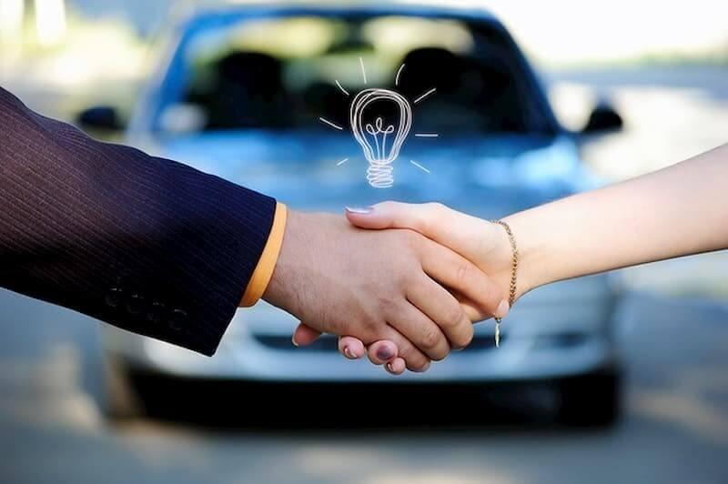 Giấy tờ mua bán xe được xác lập dựa trên thỏa thuận tự nguyện của cả 2 bên