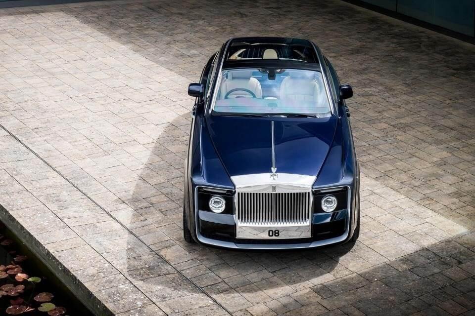 Xế sang 12,8 triệu đô Rolls-Royce Sweptail