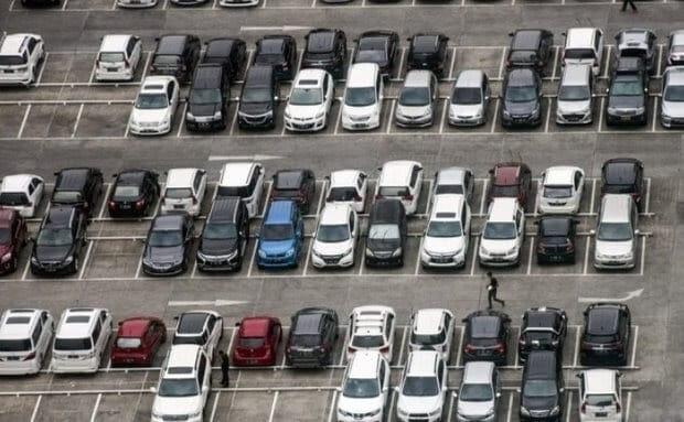 Mô hình bãi đỗ xe song song