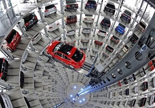 Một mô hình bãi đỗ xe thông minh