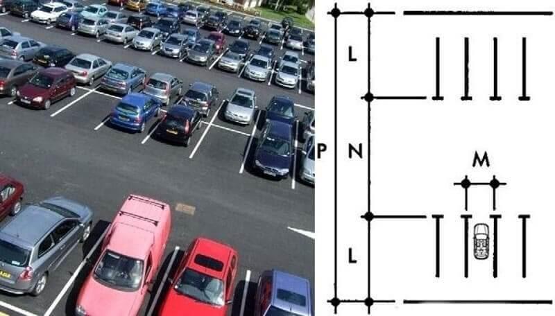 Bãi đỗ xe thông dụng nhất