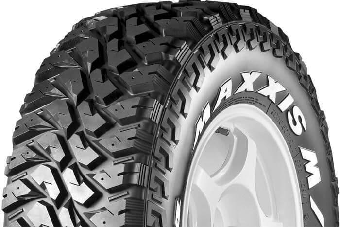 Lốp Maxxis với thiết kế lốp dày dặn