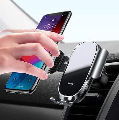 Giá đỡ điện thoại kẹp tự động thiết kế sang trọng