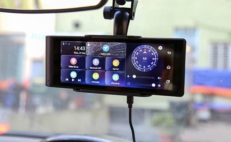 Camera hành trình trên ô tô giúp ghi lại nhiều video cần thiết