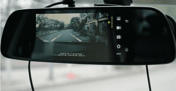 Camera hành trình với điều khiển tiên tiến hỗ trợ người lái