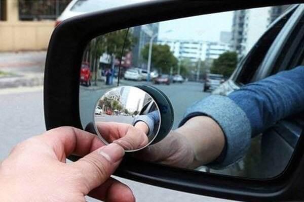 Gương cầu nhỏ giúp quan sát điểm mù tốt hơn