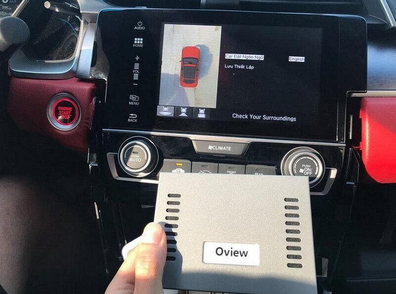 Camera quan sát phía sau là những tính năng cần thiết để hỗ trợ lái xe quan sát